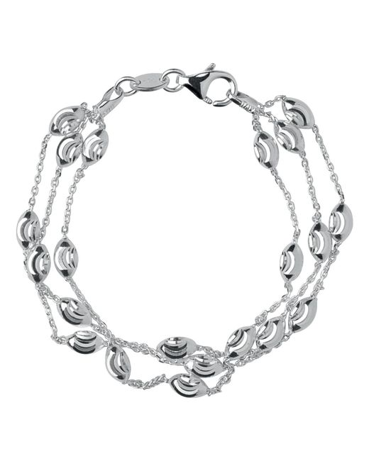Links of London | Metallic Beaded Chain 3 Row Bracelet-l | Lyst