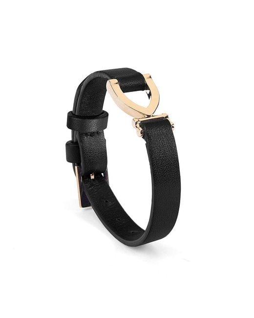 Aspinal | Black Mayfair Bracelet | Lyst