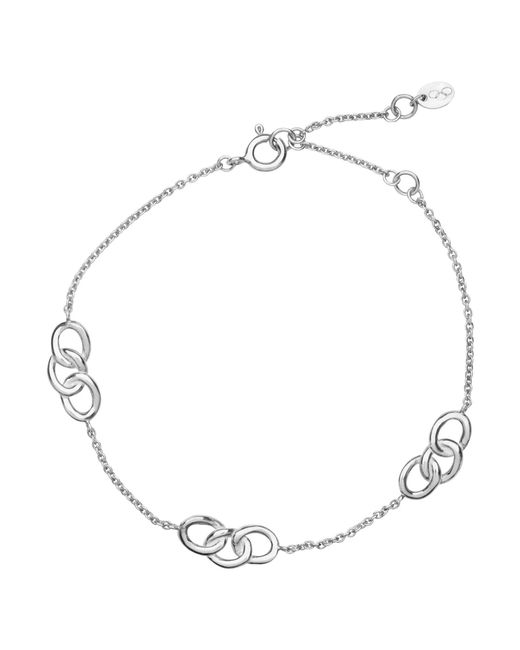Links of London | Metallic Signature 3 Station Bracelet | Lyst
