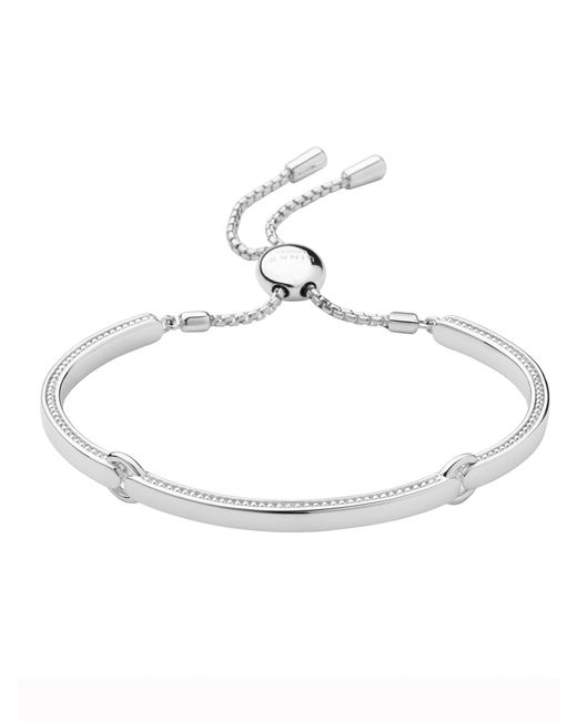 Links of London | Metallic Narrative Silver Bracelet | Lyst