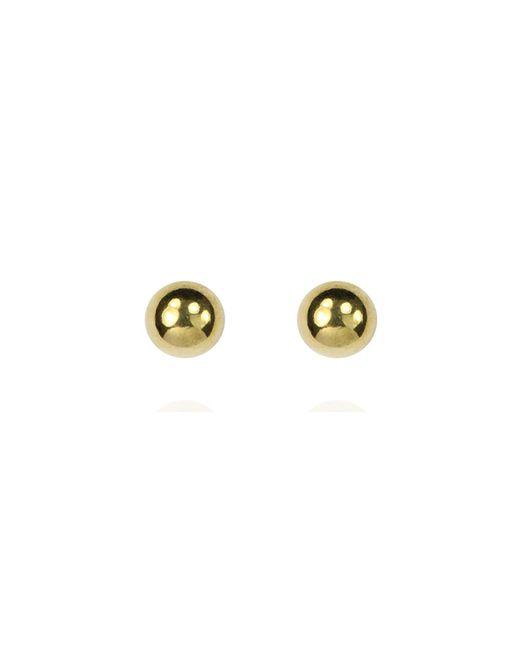 Anne Klein | Metallic Gold Pearl Stud | Lyst