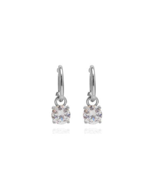 Anne Klein | Metallic Crystal Stud Earrings | Lyst