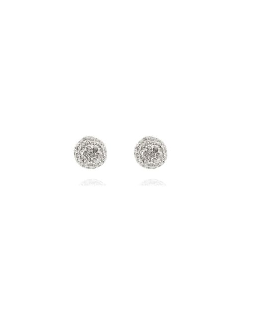 Anne Klein | Metallic Fireball Stud Earrings | Lyst