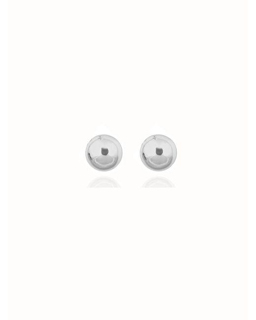 Anne Klein | Metallic Pearl Stud Earrings | Lyst