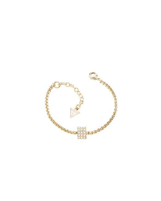 Guess | Metallic G Rounds Gold Bracelet | Lyst