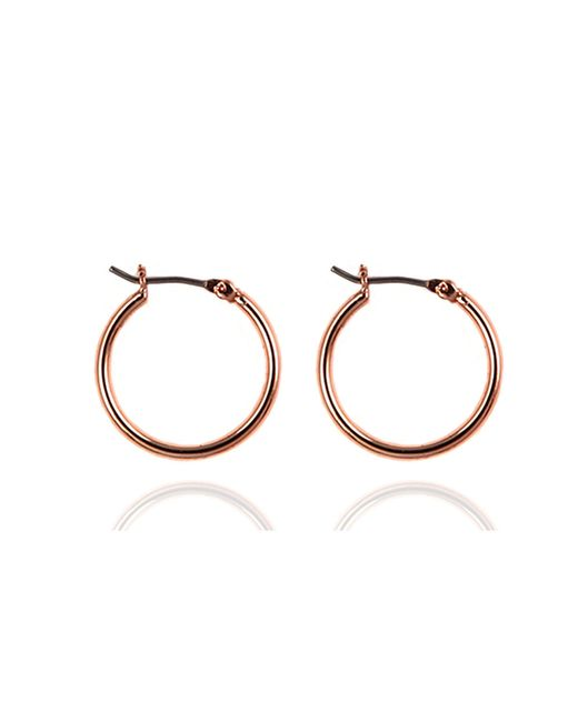 Nine West | Metallic Click It Hoop Earrings | Lyst