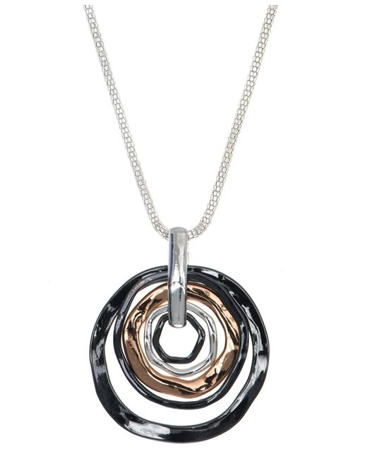 Nine West | Metallic Pendant Neckalce | Lyst