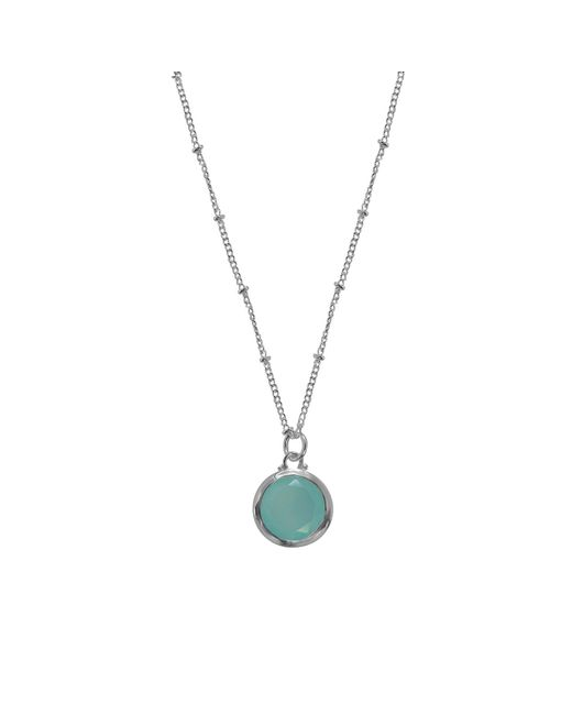 Juvi Designs   Metallic Sterling Silver Egadi Round Pendant   Lyst