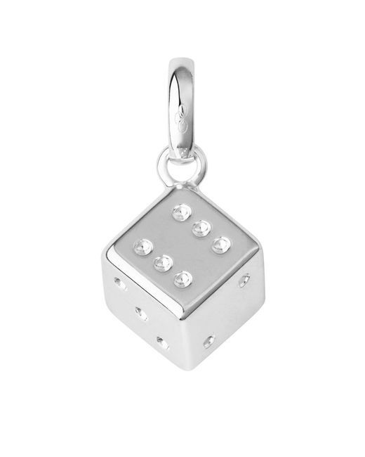 Links of London | Metallic Sterling Silver Lucky Dice Charm | Lyst