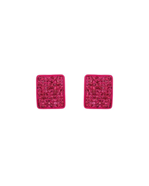 Mikey | Pink Rectangle Earring | Lyst