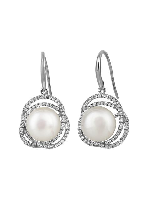 Jersey Pearl | Metallic Freshwater Pearl Earrings | Lyst