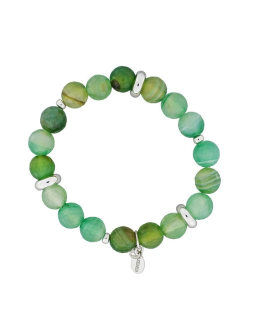 Azendi   Green Agate Bead Bracelet   Lyst