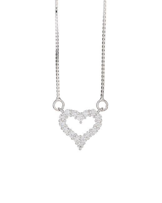 Mikey | Metallic Sterling Silver925 Heart Design Pendant | Lyst