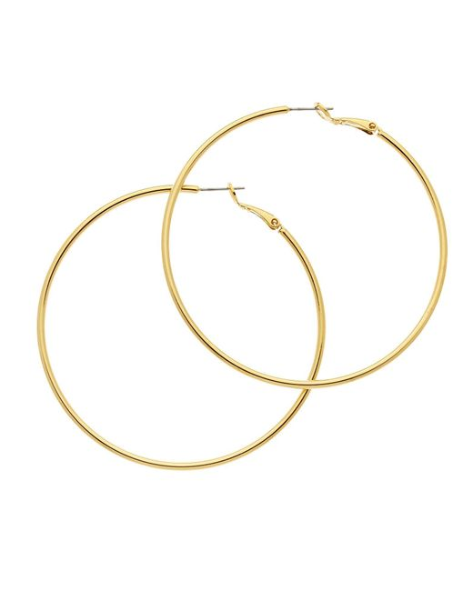 Melissa Odabash | Multicolor Gold Large Hoop Earrings | Lyst