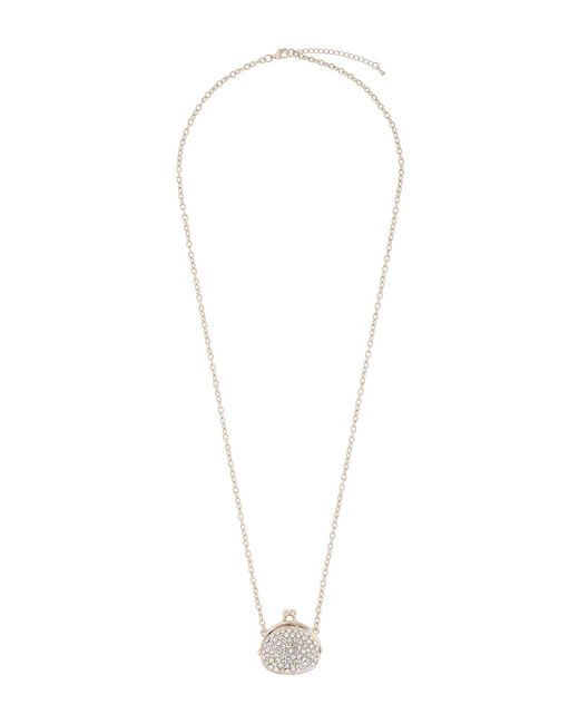Mikey | Metallic Purse Necklace | Lyst