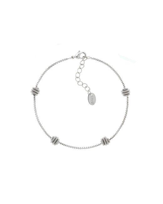 Monet | Metallic Spiral Ball Boxed Chain Bracelet | Lyst
