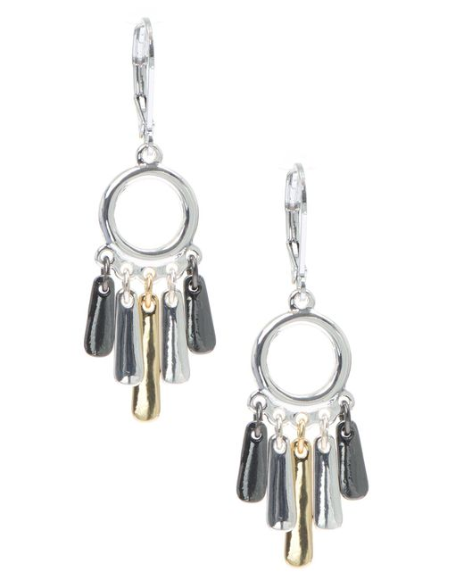 Nine West | Metallic Small Chandellier Earrings | Lyst