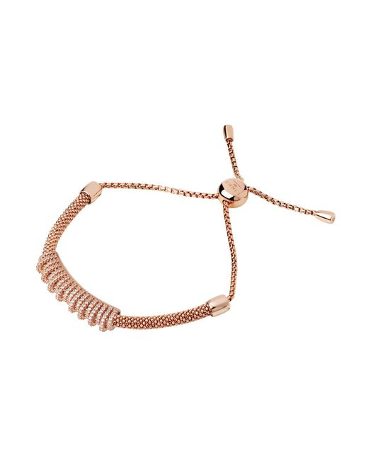Links of London | Metallic Starlight Rose Gold Crown Bracelet | Lyst