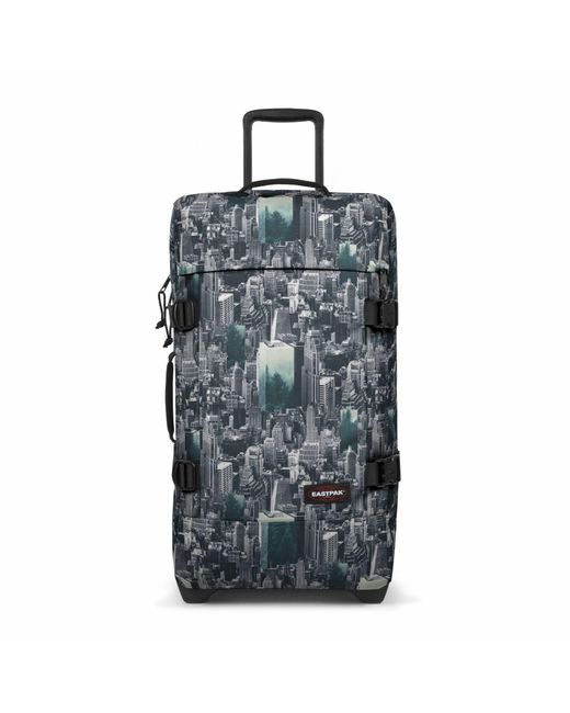 Eastpak | Multicolor Tranverz Medium Escaping Pines Wheeled Suitcase | Lyst