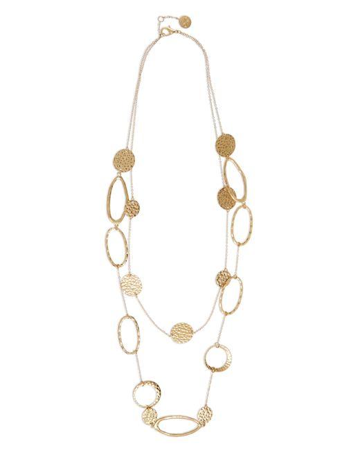 Jaeger | Metallic Zaha Link Necklace | Lyst