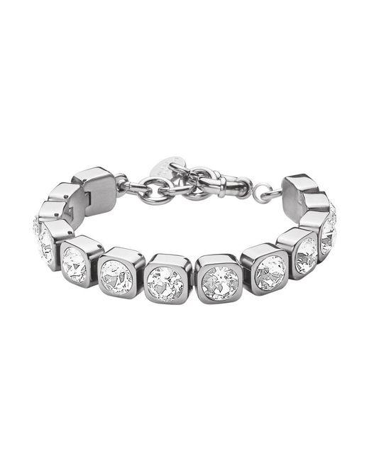 Dyrberg/Kern | Metallic Dk328907 Conian Crystal Bracelet | Lyst