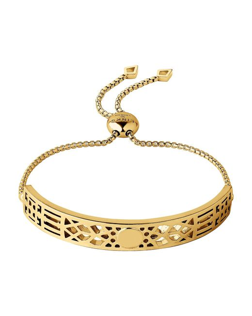 Links of London | Metallic Timeless 18kt Yellow Gold Vermeil Toggle Bracelet | Lyst