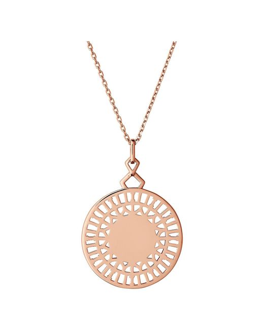 Links of London | Metallic Timeless 18kt Rose Gold Vermeil Necklace | Lyst