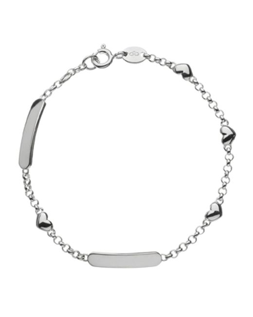 Links of London - Metallic Hearts Id Bracelet - Lyst