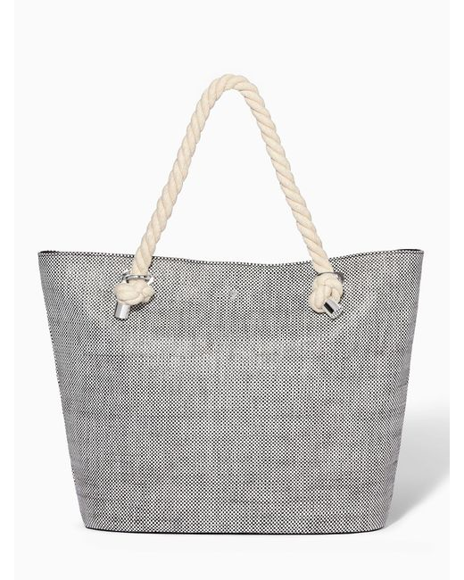 Modalu | White Brighton Summer Tote Bag | Lyst