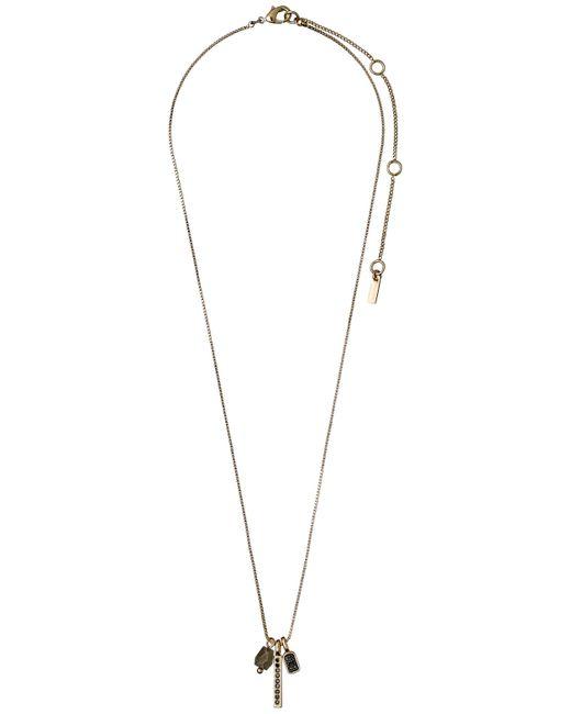 Pilgrim - Metallic Gold Gorgeous Collarbone Necklace - Lyst