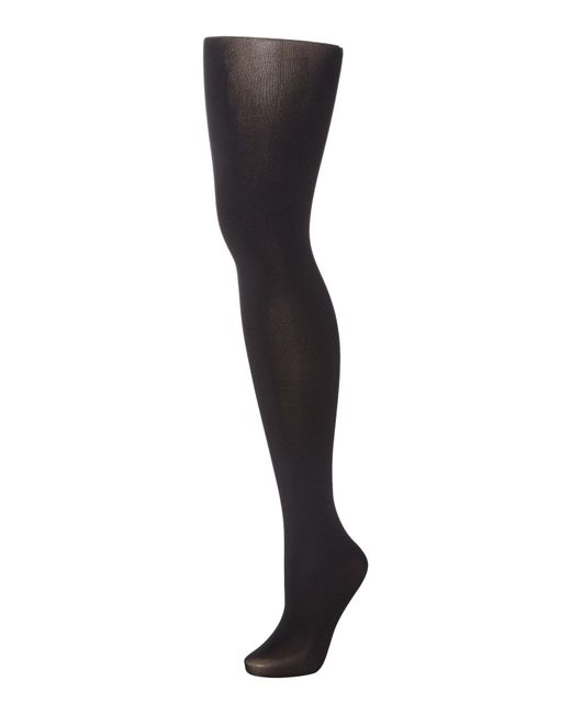 Aristoc - Black Gold Backseam Opaque Tights - Lyst