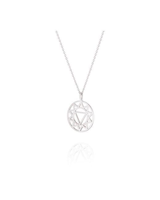 Daisy London - Metallic Solar Plexus Chakra Necklace - Lyst