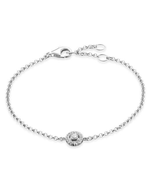 Thomas Sabo - Metallic Glam & Soul Pavé Silver Bracelet - Lyst