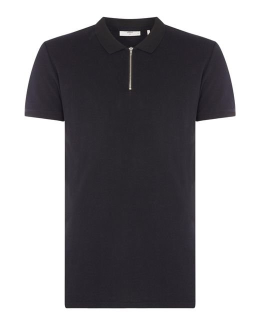 Minimum | Black Polo Shirt for Men | Lyst