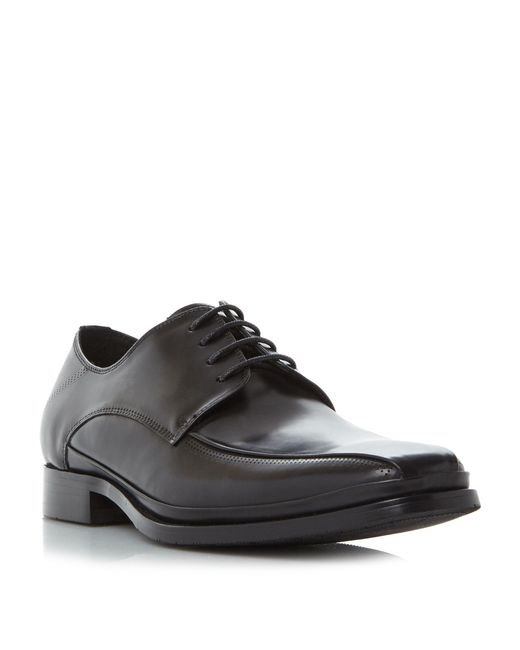 Kenneth Cole | Black Under-tone Chisel Toe Gibson Shoe for Men | Lyst