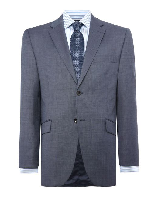 Howick | Blue Brerard Slim Fit Sb2 Notch Lapel Suit Jacket for Men | Lyst