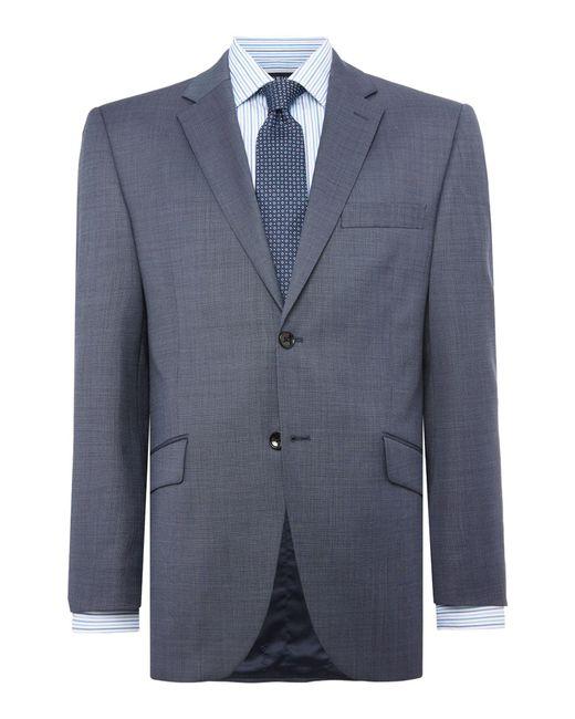 Howick - Blue Brerard Slim Fit Sb2 Notch Lapel Suit Jacket for Men - Lyst