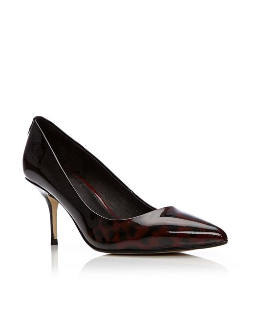Moda In Pelle | Red Dorissa Medium Heel Smart Shoes | Lyst