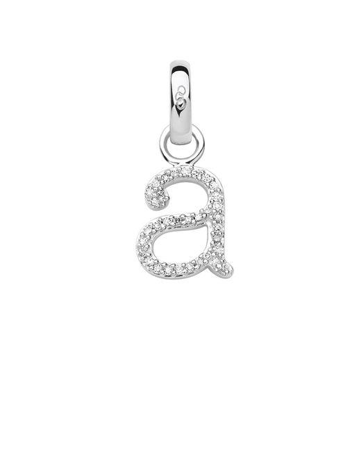 Links of London | Metallic Sterling Silver & Diamond A Alphabet Charm | Lyst