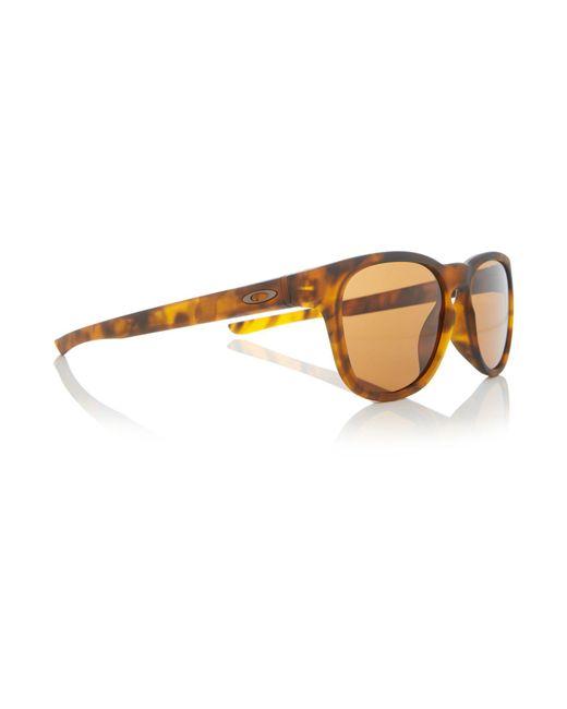 Oakley | Brown Havana Rectangle Oo9315 Sunglasses for Men | Lyst
