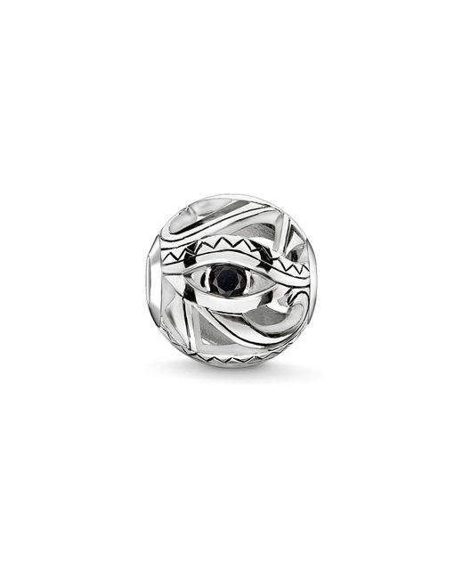 Thomas Sabo | Metallic Silver Eye Of Horus Karma Bead | Lyst