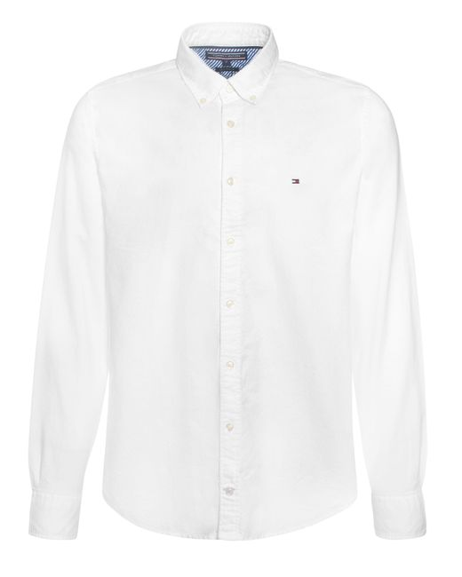 Tommy Hilfiger | White Ivy Check Oxford Shirt for Men | Lyst