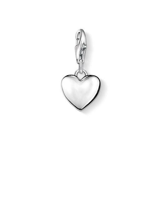 Thomas Sabo | Metallic Charm Club Heart Pendant | Lyst
