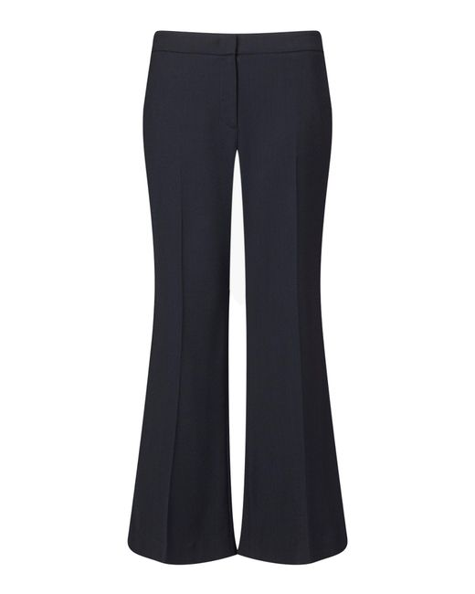 Jigsaw | Blue Tailored Kick Flare Trouser | Lyst