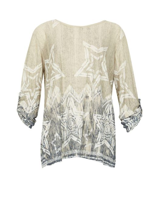 Izabel London | Multicolor Star Print Smock Top | Lyst