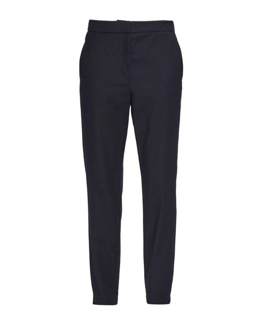 French Connection | Black Georgie Suiting Gathered Waist Trousers for Men | Lyst