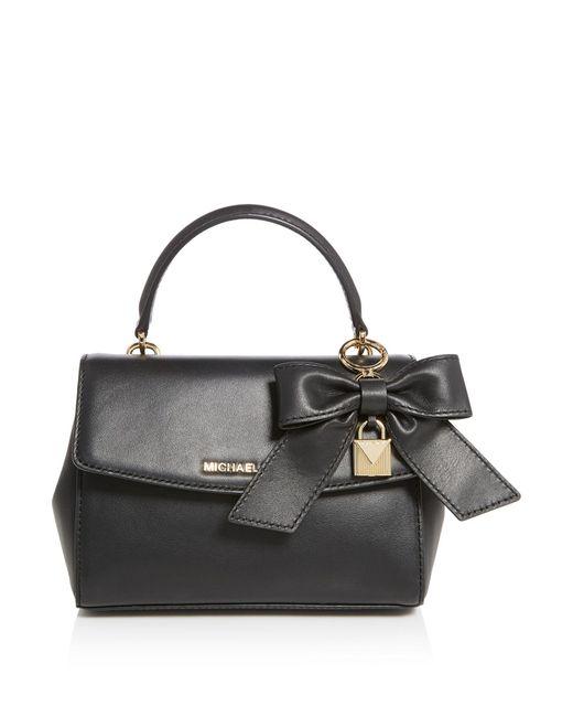Michael Kors | Black Jet Set Travel Extra Small Crossbody Bag | Lyst