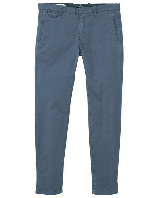 Mango - Blue Men's Stretch Cotton Trousers for Men - Lyst