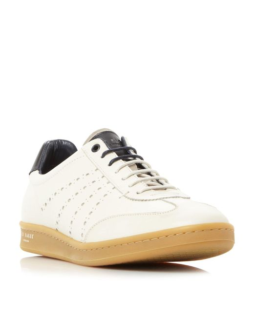 Ted Baker | Gray Orlee Retro Cupsole Trainers for Men | Lyst