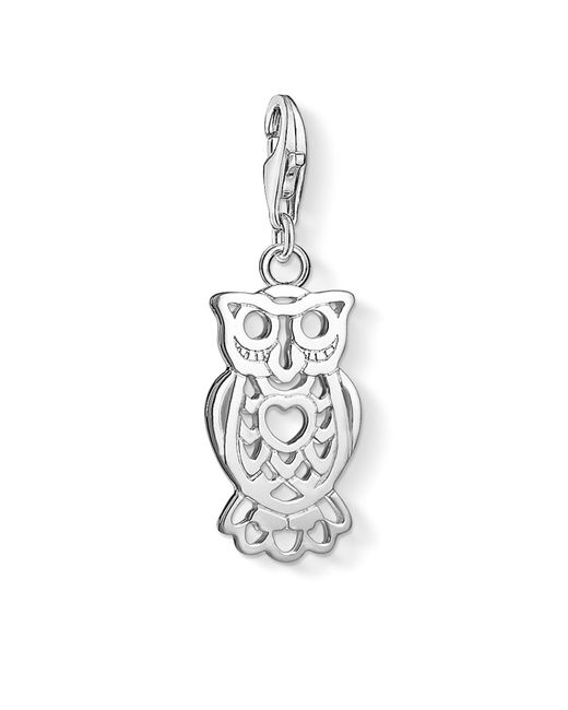 Thomas Sabo - Metallic Charm Club Owl Charm Pendant - Lyst